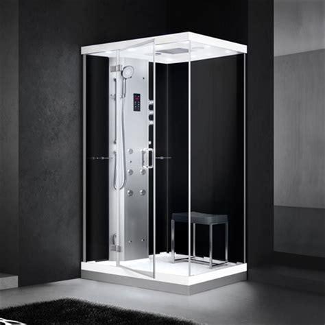 steam shower alice  vaenster svart wwwpm hemse