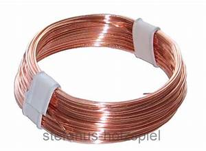 Kupferdraht 2 Mm : draht kupferdraht blank 0 5mm modellbahn kabel 10m 0 18 m schaltdraht neu ebay ~ Orissabook.com Haus und Dekorationen