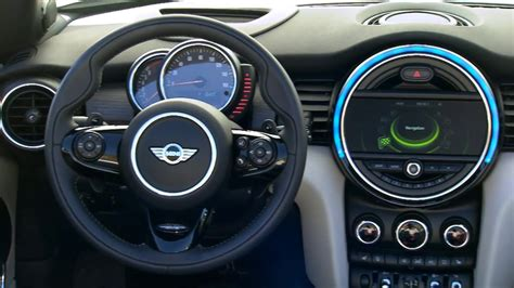mini cooper  convertible interior design  caribbean aqua metallic automototv youtube