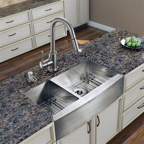 farm sink  kitchen lowes double chrome kitchen sink