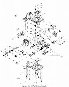 Mtd 14av807p131  2000  Parts Diagram For Transmission
