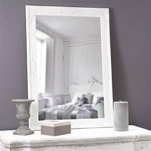 Miroir Fenetre Maison Du Monde : miroir blanc h 104 cm enzo maisons du monde ~ Teatrodelosmanantiales.com Idées de Décoration