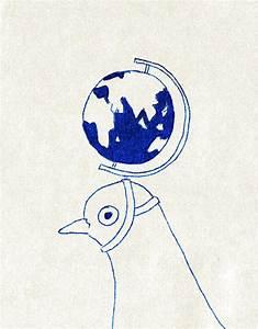 illustrated world globe | Tumblr