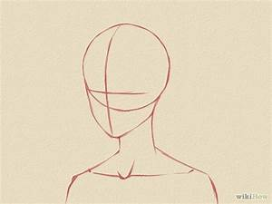 draw a manga face male drawing tips drawings and With anime head template