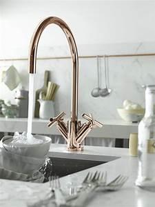 Rose Gold Decor : rose gold design faucets and accessories for bathroom and kitchen by dornbracht ~ Teatrodelosmanantiales.com Idées de Décoration