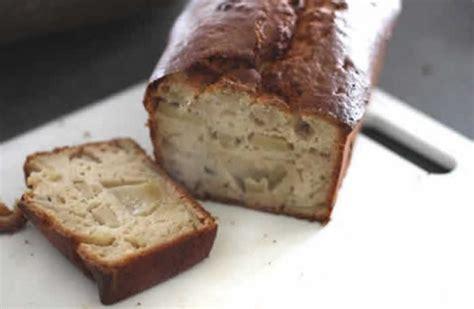 gateau yaourt aux pommes rapide  cake moelleux