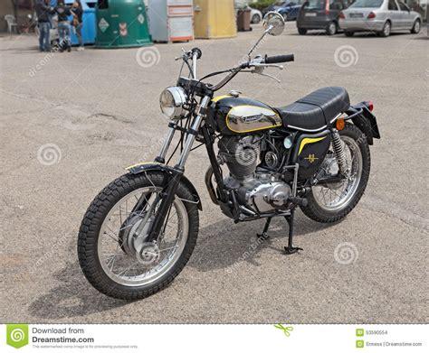 Vintage Italian Bike Ducati 450 Scrambler Editorial Stock