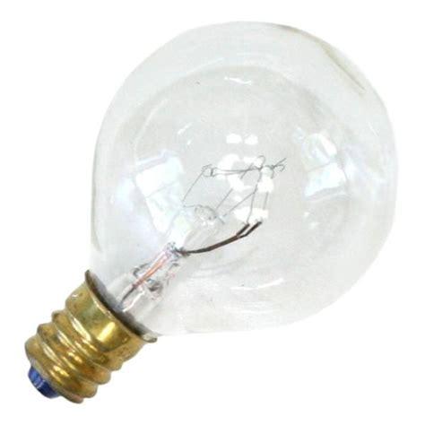 satco 03847 s3847 g12 5 decor globe light bulb