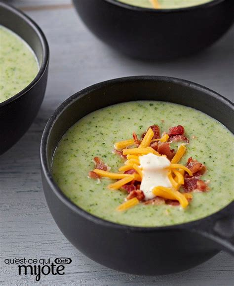 Home Kraft Canada Cooking Recipe Cream Of Broccoli