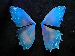 Dark Fairy Wings Flourescent blue faerie wings in 2019 ...