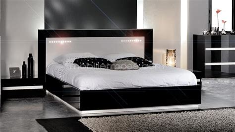 chambre adulte noir et blanc meuble chambre blanc meuble de rangement chambre fille