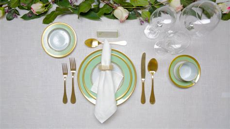 set  dinner table architectural digest