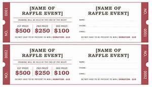 Raffle Flyer Template Word Raffle Ticket Templates 5 Free Printable Templates