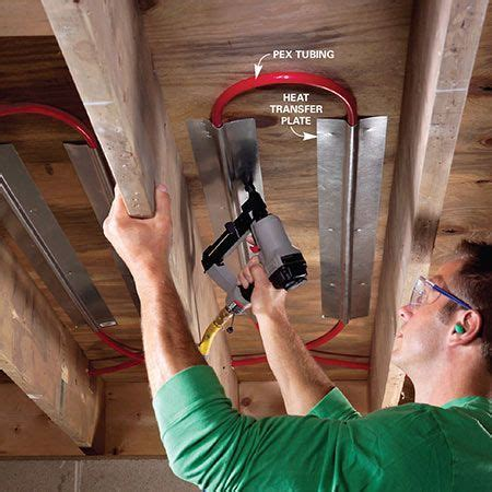 Electric vs. Hydronic Radiant Heat Systems   Wood projects