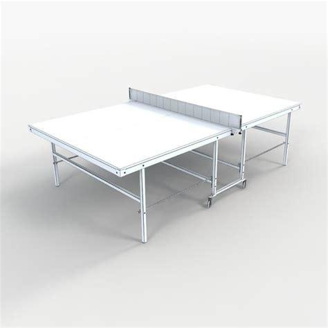 free ping pong table ping pong table free 3d model download digitalxmodels com