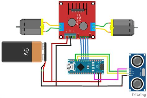 Arduino Based Obstacle Avoiding Robot Project With Code