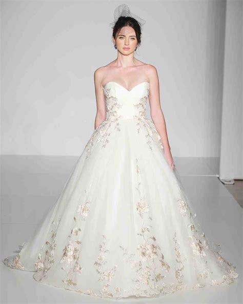 Ultra-Romantic Floral Wedding Dresses | Martha Stewart Weddings