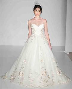 ultra romantic floral wedding dresses martha stewart With floral wedding dresses