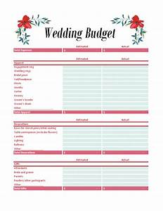 budgets officecom With wedding budget book
