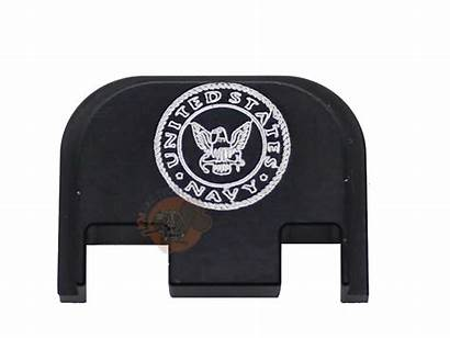 Glock Plate G43 G42 Navy Engraved