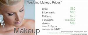 Wedding Hair And Makeup Cost Wedding Makeup Prices WUoHzS