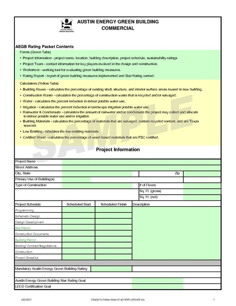 contractor quality plan template construction work plan template images
