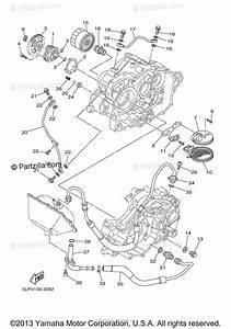 Yamaha Atv 2003 Oem Parts Diagram For Oil Pump