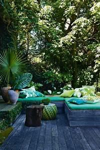 60 photos comment bien amenager sa terrasse terrasses With mobilier de piscine design 5 deco mur exterieur homeandgarden
