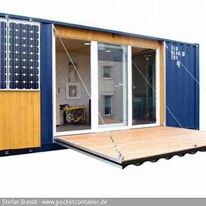 Günstige Häuser Bauen : mikrohaus selbst gebaut wohnen im berseecontainer container h user haus und container ~ Buech-reservation.com Haus und Dekorationen