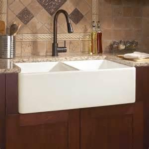 33 quot angove bowl cast iron farmhouse sink kitchen