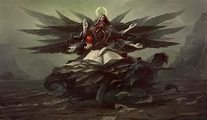 Azrael by PeteMohrbacher on DeviantArt