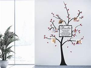 Wandtattoo Sprüche Familie : wandtattoo famili rer fotobaum bei ~ Frokenaadalensverden.com Haus und Dekorationen