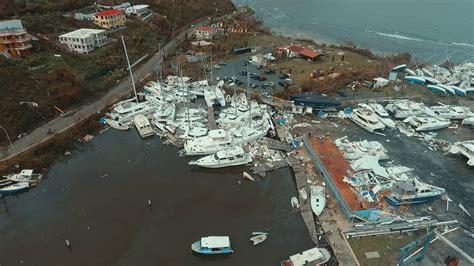 Tortola Hurricane Boats by Nanny Cay Marina The Day After Hurricane Irma