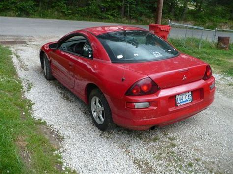2000 Mitsubishi Eclipse Rs by Purchase Used 2000 Mitsubishi Eclipse Rs Coupe 2 Door 2 4l