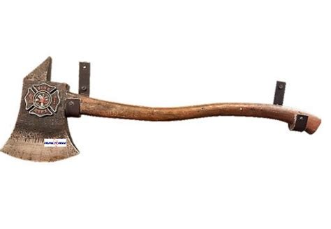 fireman axe towel holder