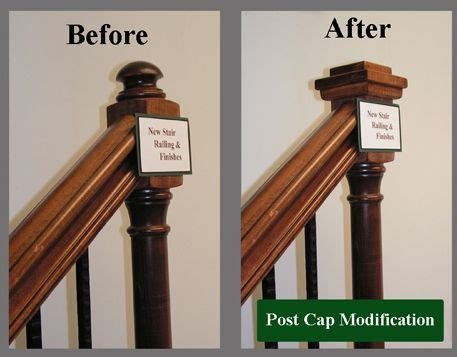 banister post tops newel post cap to square remodeling in 2019