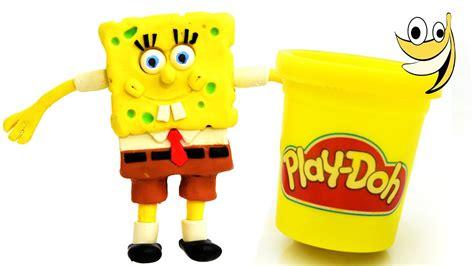 Spongebob Squarepants Play doh STOP MOTION video