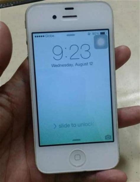 iphone 4 used iphone 4 white 32gb used philippines