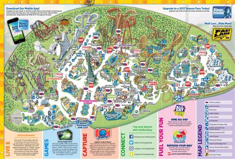 Kings Island Historical Maps - CP Food Blog