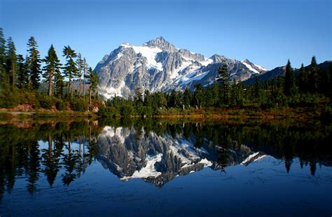 Picture Lake, Mt. Baker