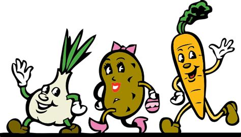 Animated Clip Art Vegetables