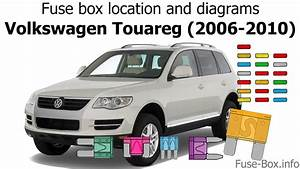 Fuse Box Location And Diagrams  Volkswagen Touareg  2006-2010