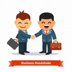 People Shaking Hands Cartoon | www.pixshark.com - Images ...