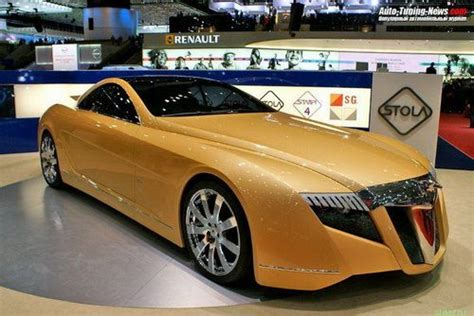 Maybach Exelero Gold Sports Cars Picture
