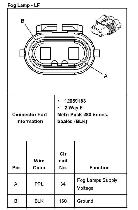 Need Wiring Diagram For Gmc Fog Light Rear