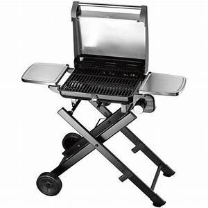 Mini Barbecue Electrique : barbecue lectrique gaz sur pieds cuisinart bq400e privadis ~ Dallasstarsshop.com Idées de Décoration