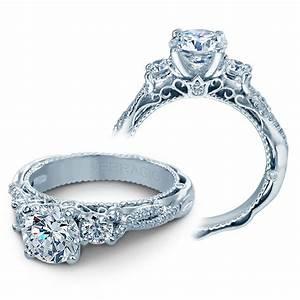 verragio engagement rings 5013r 4 gld 045ctw diamond setting With verragio engagement rings and wedding bands