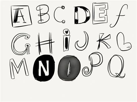 hand lettering alphabet hand lettering alphabet hand