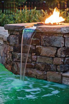 images  poolside fire  pinterest fire pits