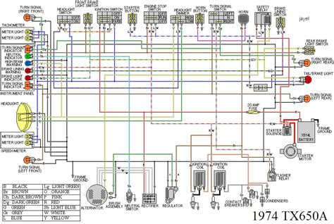 Yamaha Xs650 Simple Wiring Diagram by Xs 650 Wiring Diagram Wiring Diagram